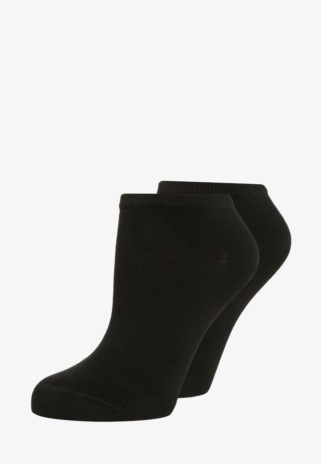 WOMEN SNEAKER 2 PACK - Socks - black