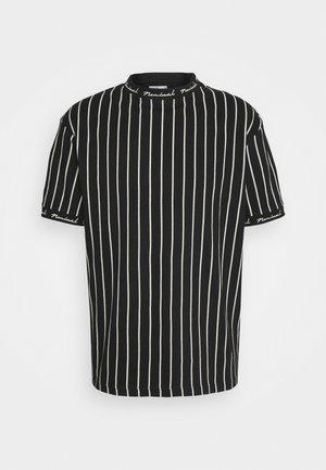 CORE - T-shirt con stampa - black/white
