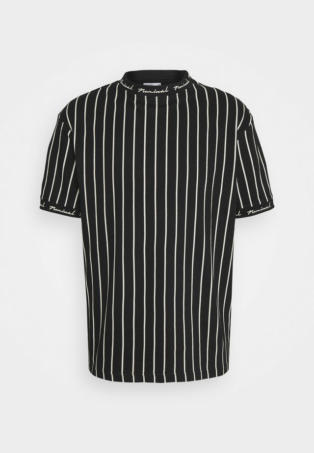 CORE - Print T-shirt - black/white