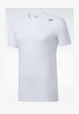 TRAINING ESSENTIALS CLASSIC TEE - T-shirt basique - white