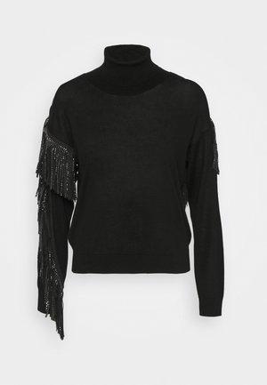 LITUANIA - Strickpullover - black