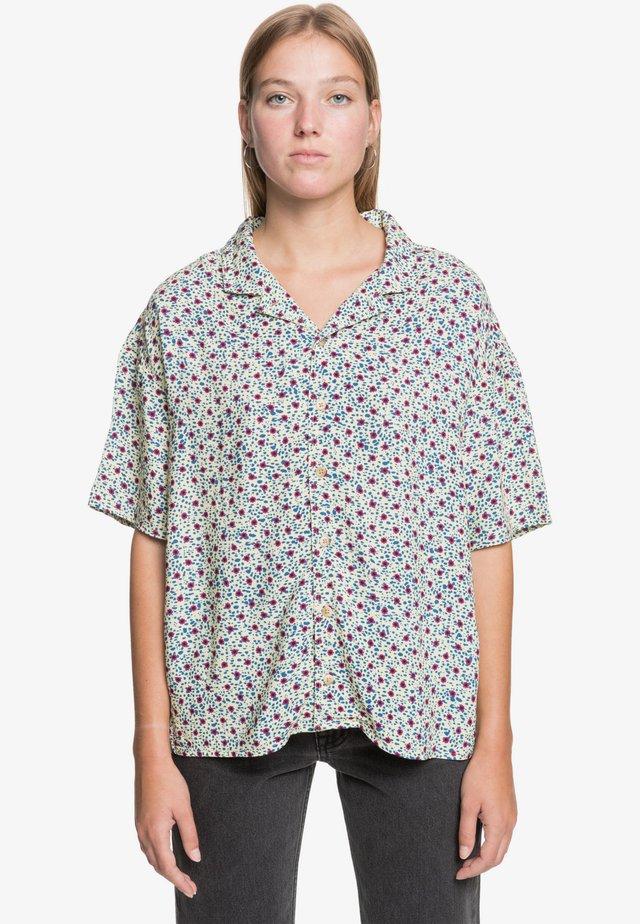 Button-down blouse - drifter dark shadow