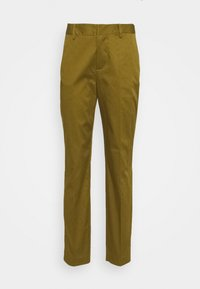 BELL' IN MERCERIZED QUALITY - Chino kalhoty - army