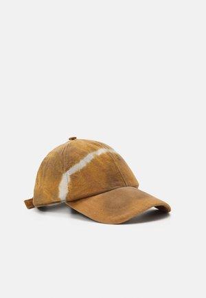 TIE DYE - Cap - brown/grey