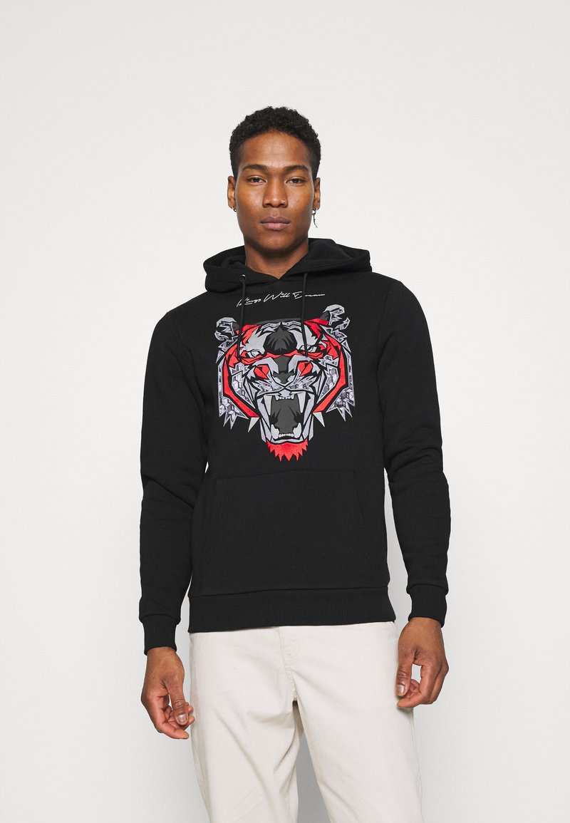 Kings Will Dream - DEMON HOODIE - Hoodie - black/red
