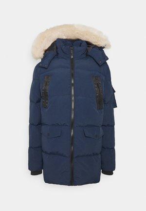 REVOLT LONG BUBBLE JACKET - Winter coat - navy