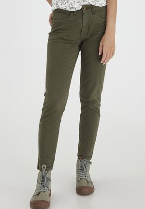 FRLOPEACHED - Slim fit jeans - hedge