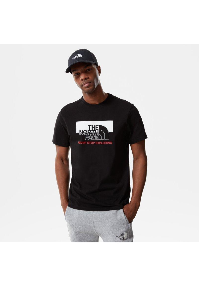 The North Face - T-shirt med print - tnf black