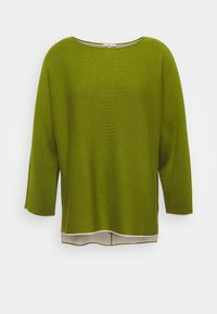 TOM TAILOR - BATWING DOUBLE FACE - Jumper - wood green - 0
