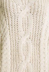 TOM TAILOR DENIM - CABLE  - Jumper - soft beige - 2