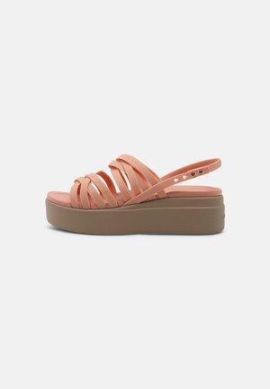 BROOKLYN STRAPPY - Sandalias con plataforma - pale blush