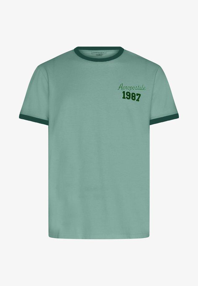 RINGER - T-shirt imprimé - mint