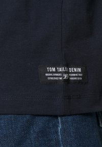 TOM TAILOR DENIM - HIGH COLLAR - Långärmad tröja - sky captain blue - 5
