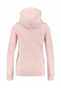 Superdry - VINTAGE LOGO - Zip-up sweatshirt - rosa - 3