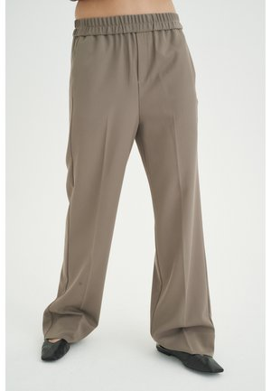 Trousers - sandy grey