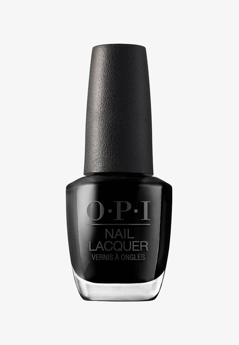 OPI - NAIL LACQUER - Nail polish - nlt 02 lady in black