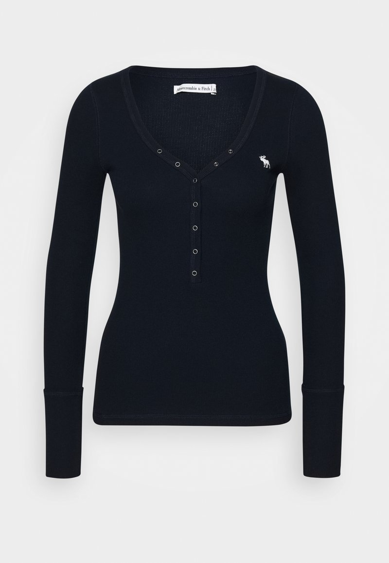 Abercrombie & Fitch - Long sleeved top - navy