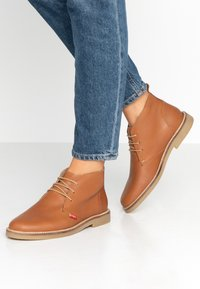 Kickers - TYL - Casual lace-ups - camel - 0