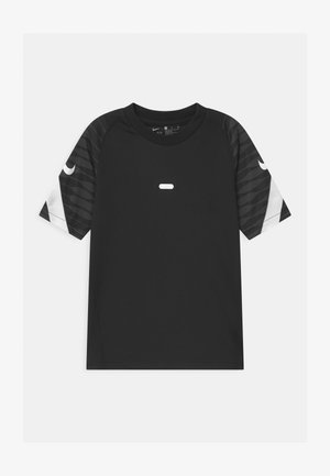 UNISEX - Print T-shirt - black/anthracite/white