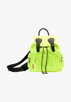 Rucksack - neon gelb