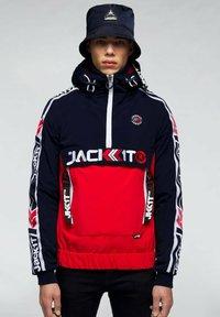 JACK1T - Summer jacket - navy/white/red - 0
