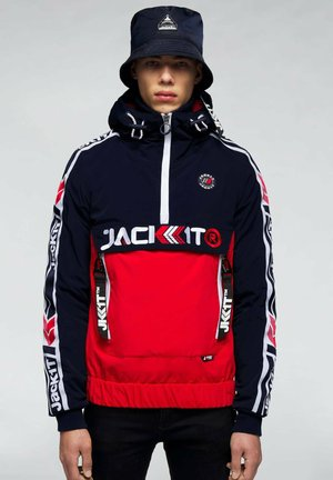 Summer jacket - navy/white/red