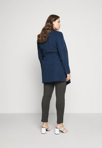 CAPSULE by Simply Be - WATERFALL JACKET - Short coat - navy - 3