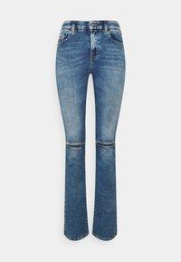Diesel - D-SLANDY - Bootcut jeans - light blue - 5