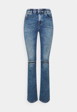 D-SLANDY - Bootcut jeans - light blue