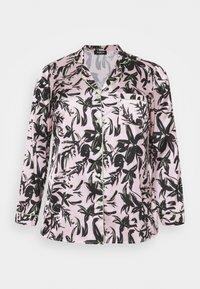 Simply Be - PRETTY SECRETS BUTTON THROUGH - Pyjamas - pink/black - 1