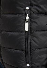 ICEBOUND - Waistcoat - schwarz - 4