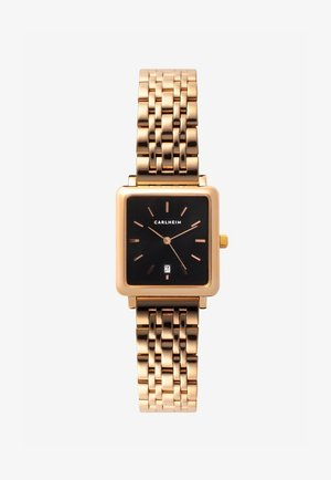 Horloge - rose gold-black