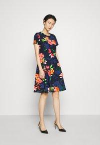 DKNY - Day dress - flower midnight multi - 1