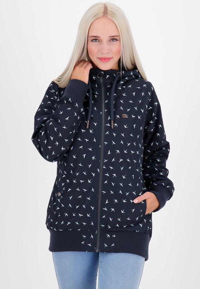 JOHANNAAK JACKET - Zip-up hoodie - marine