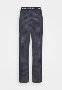 Jack & Jones - JACDOTS PANTS - Pyžamový spodní díl - dress blues