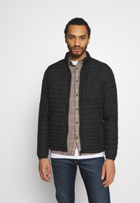 Jack & Jones PREMIUM - JPRBLASTREAK LIGHTWEIGHT JACKET - Light jacket - black - 0