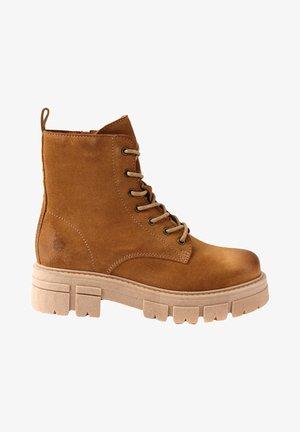 CASTLE - Lace-up ankle boots - bege