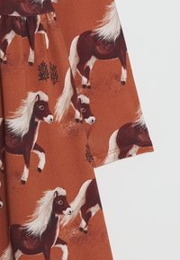Walkiddy - DRESS - Jerseyjurk - braun - 2