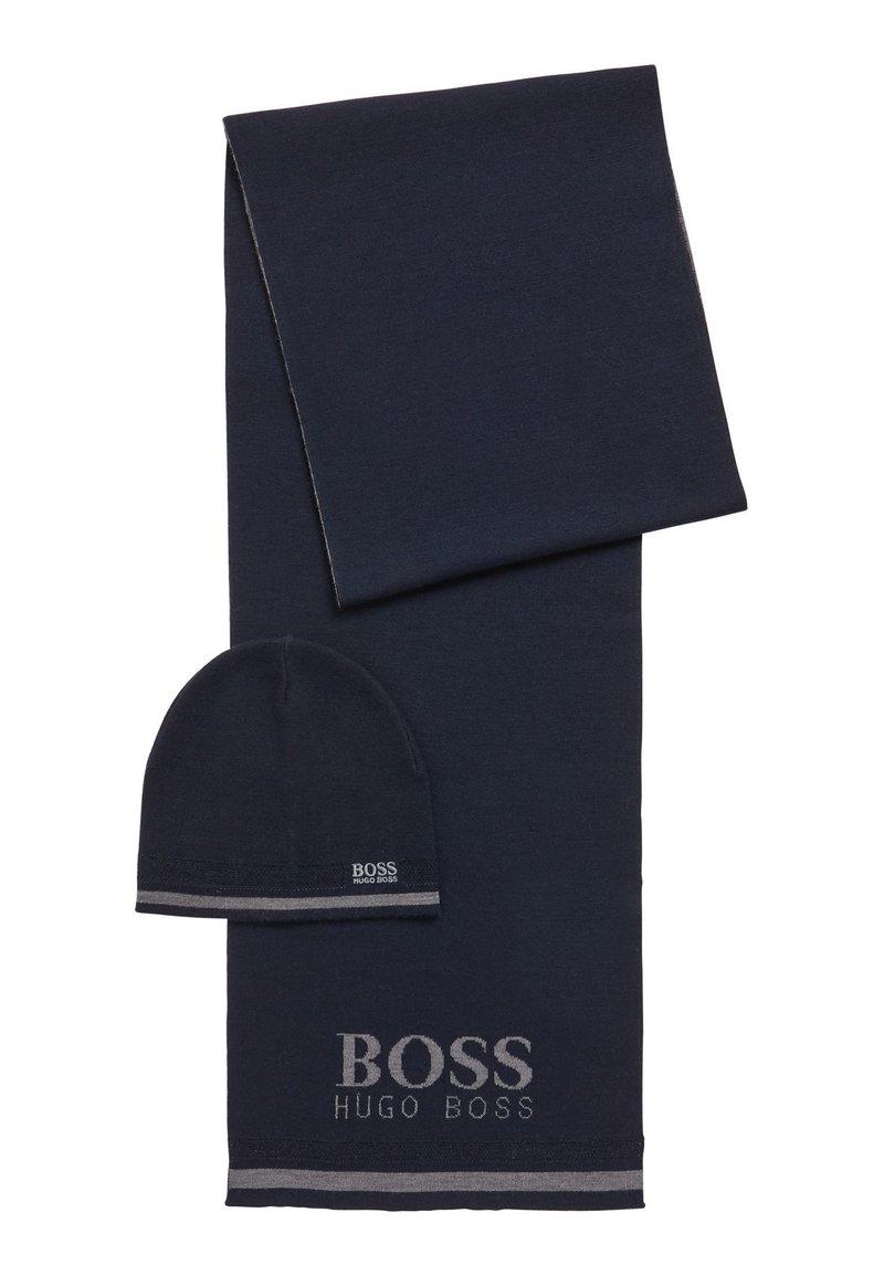BOSS - GIFT AINY - Scarf - dark blue