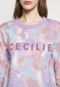 CECILIE copenhagen - MANILA SPRAY - Sweatshirt - violette - 4