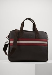 Ted Baker - SANDAR - Taška na laptop - dark brown - 0