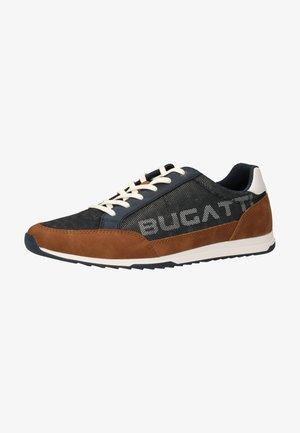 Sneakers - dark blue/cognac 4163