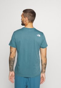 The North Face - MENS SIMPLE DOME TEE - Basic T-shirt - mallard blue - 2