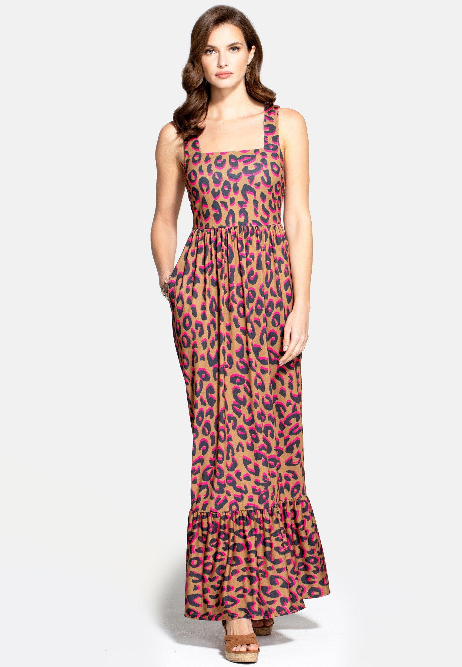 Best Seller Women's Clothing HotSquash Maxi dress brown kJIDGSZHm