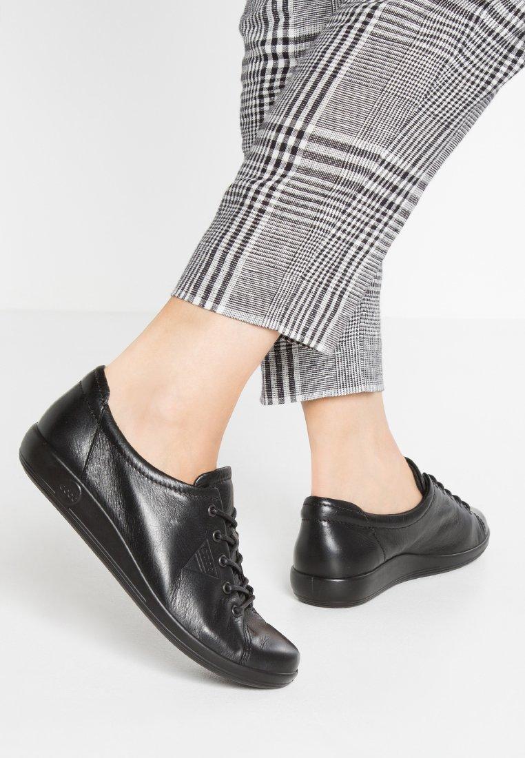 ECCO - SOFT 2.0 - Sneakers laag - black