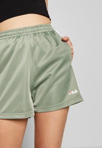 Fila Tall - TARIN HIGH WAIST - Shorts - sea spray/bright white - 5