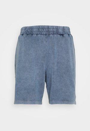 LOUNGE ACID WASHED SHORTS - Pantalón de pijama - blue