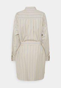 3.1 Phillip Lim - STRIPED BUTTON UP SHIRT DRESS - Shirt dress - tan - 8