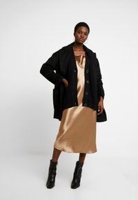 Selected Femme - SLFBAILEY BUTTON CARDIGAN - Cardigan - black - 1