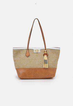 ASTINIEL - Tote bag - brown multi